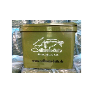 Selfmade-Baits Futtereimer 16l mit Metallhenkel (Made in Germany)
